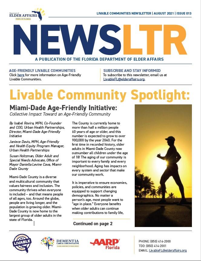Livable Newsletter August 2021