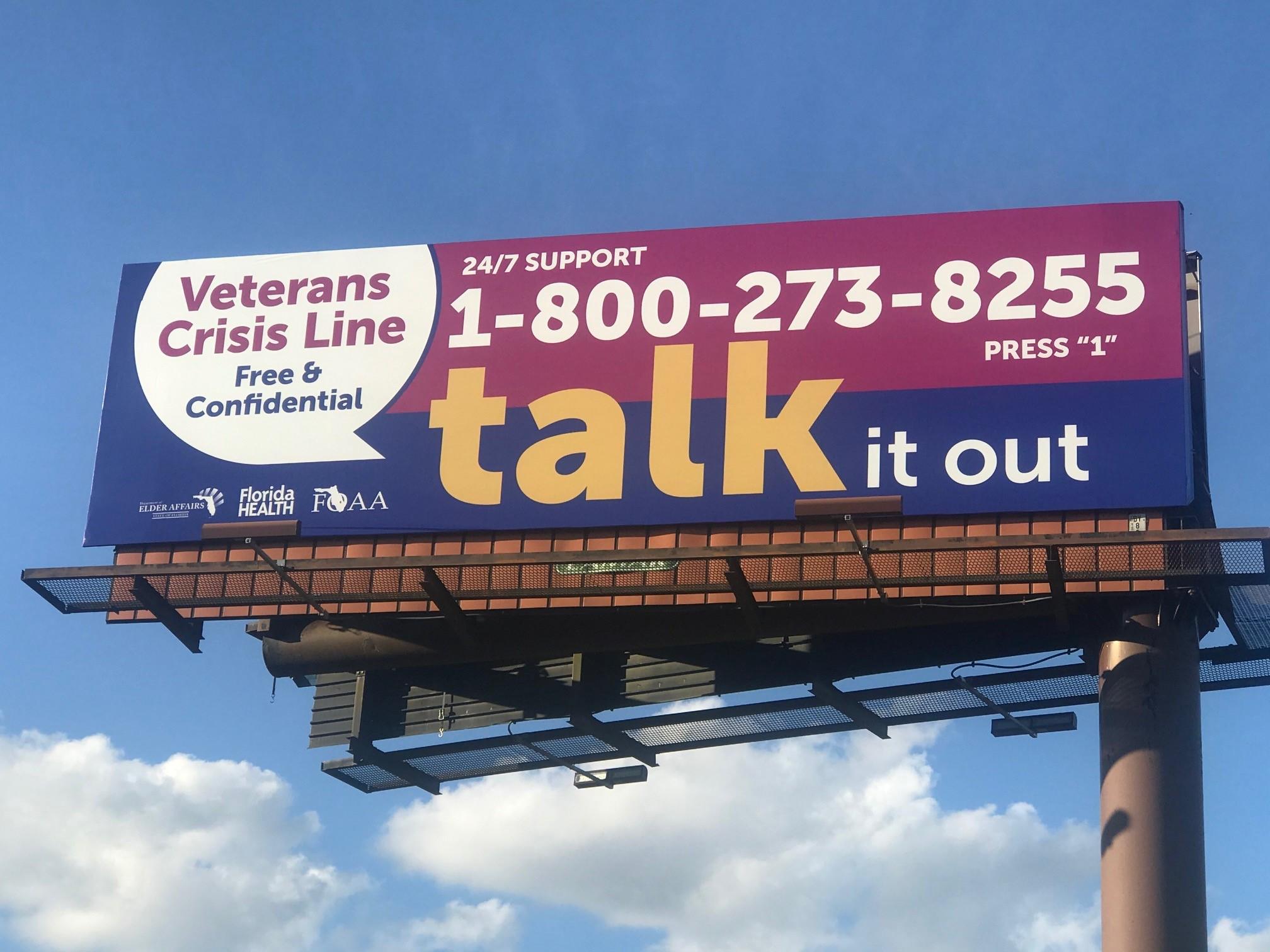 Talk It Out Billboard 1