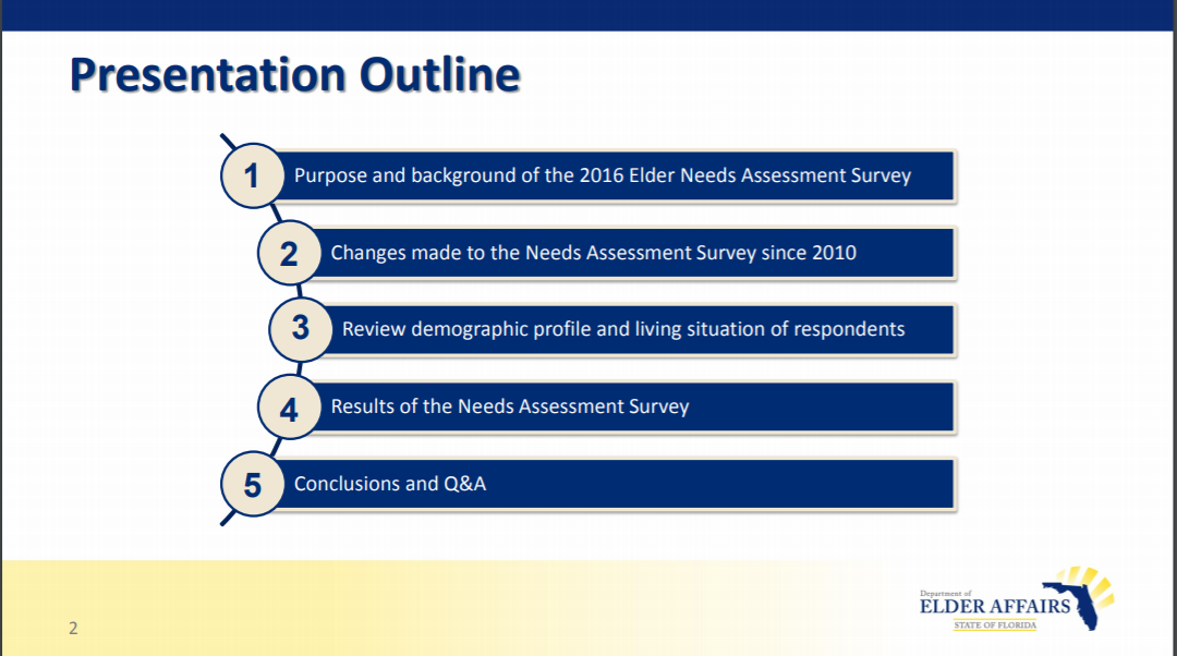 Statewide Needs Assessment Report